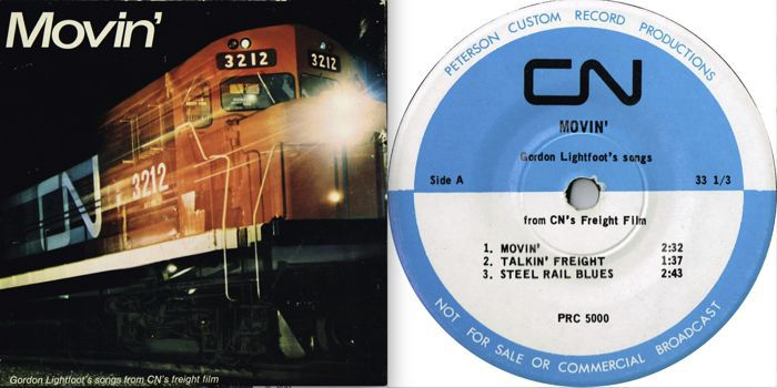 Movin' On: Lightfoot's love affair with trains - Gordon Lightfoot
