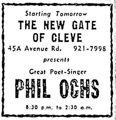 PhilOchsNewGateofCleve 8june65