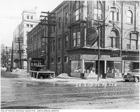 Toronto cultural landmark lost