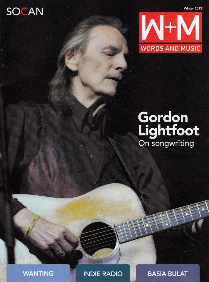 Cover Story Gordon Lightfoot On Songwriting Gordon Lightfoot
