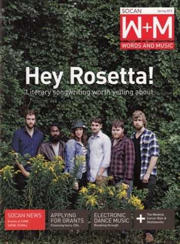 Cover Story: Hey Rosetta! - Literary songwriting worth yelling about