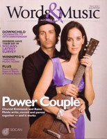 Cover Story: Chantal Kreviazuk & Raine Maida, power couple