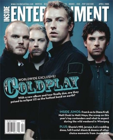 Cover Story: Coldplay takes aim at the top