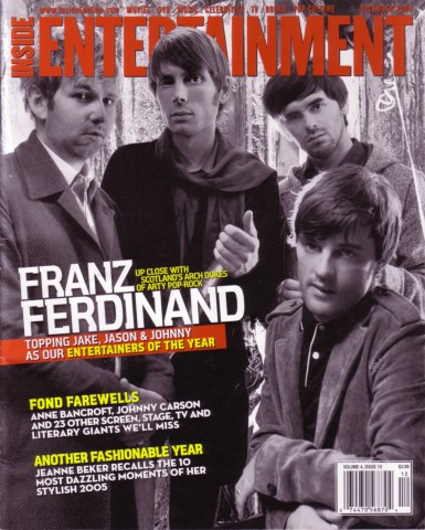 Cover Story: Franz Ferdinand - reigning rock star geeks