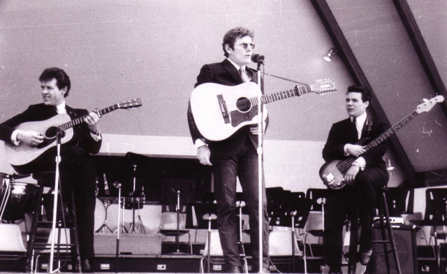 Red Shea and John Stockfish with Lightfoot at Expo 67