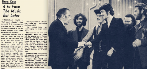 Levon and the Hawks to the Band on Ed Sullivan