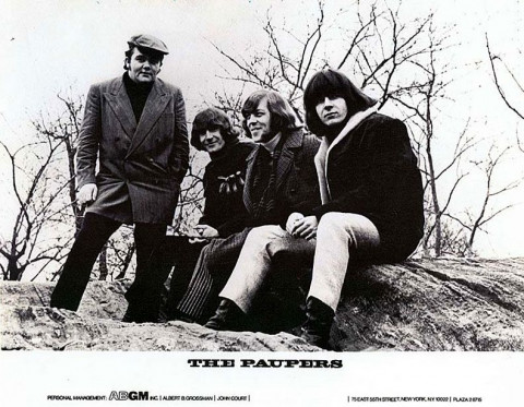 The Paupers in Central Park - photo by Linda Eastman