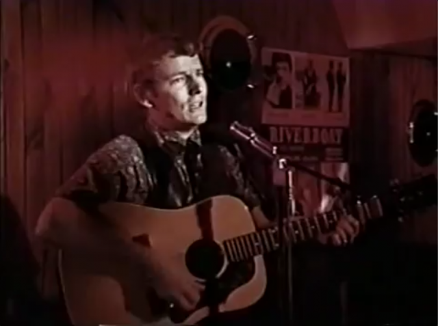 Gordon Lightfoot at the Riverboat 1967