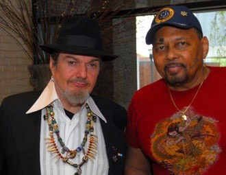 With Aaron Neville