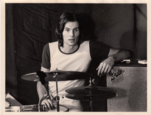 Billy at drums circa 1970