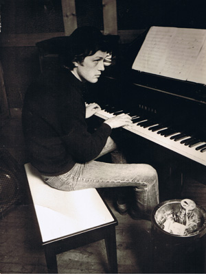 Richard Bell at piano 1970s