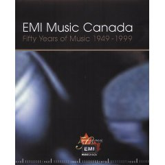 Book: Fifty Years of Music - EMI Music Canada